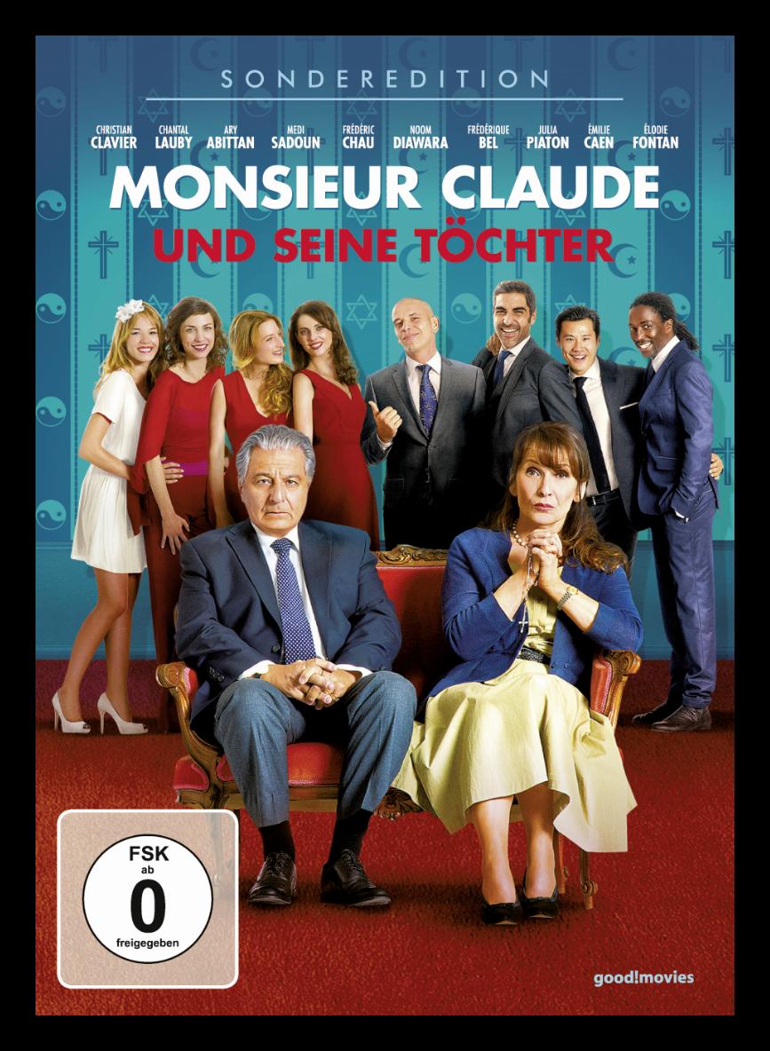 Dvd Monsieur Claude Und Seine Töchter
